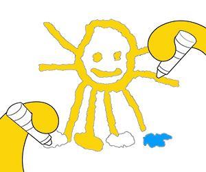 Dibujos para Colorear de Para los más pequeños