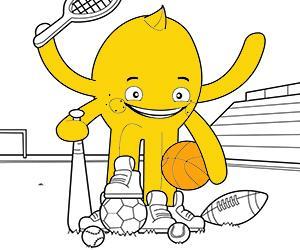 Dibujos para Colorear de Deportes y Aventura