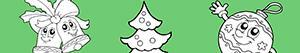 Colorear Decora el Árbol de Navidad