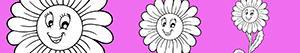 Colorear Flor