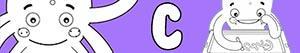 Colorear Nombres de Niño con C