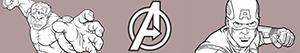 Colorear Avengers. Los Vengadores
