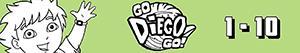 Colorear Contar del 1 al 10 con Diego y los animales